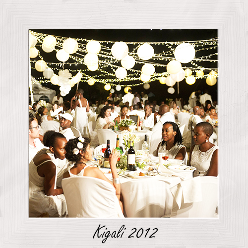 Dner en blanc international 5 years for le dner en blanc kigali this year on saturday july 23rd they will to celebrate the 5th edition of the event which has now become a kigali favourite junglespirit Choice Image