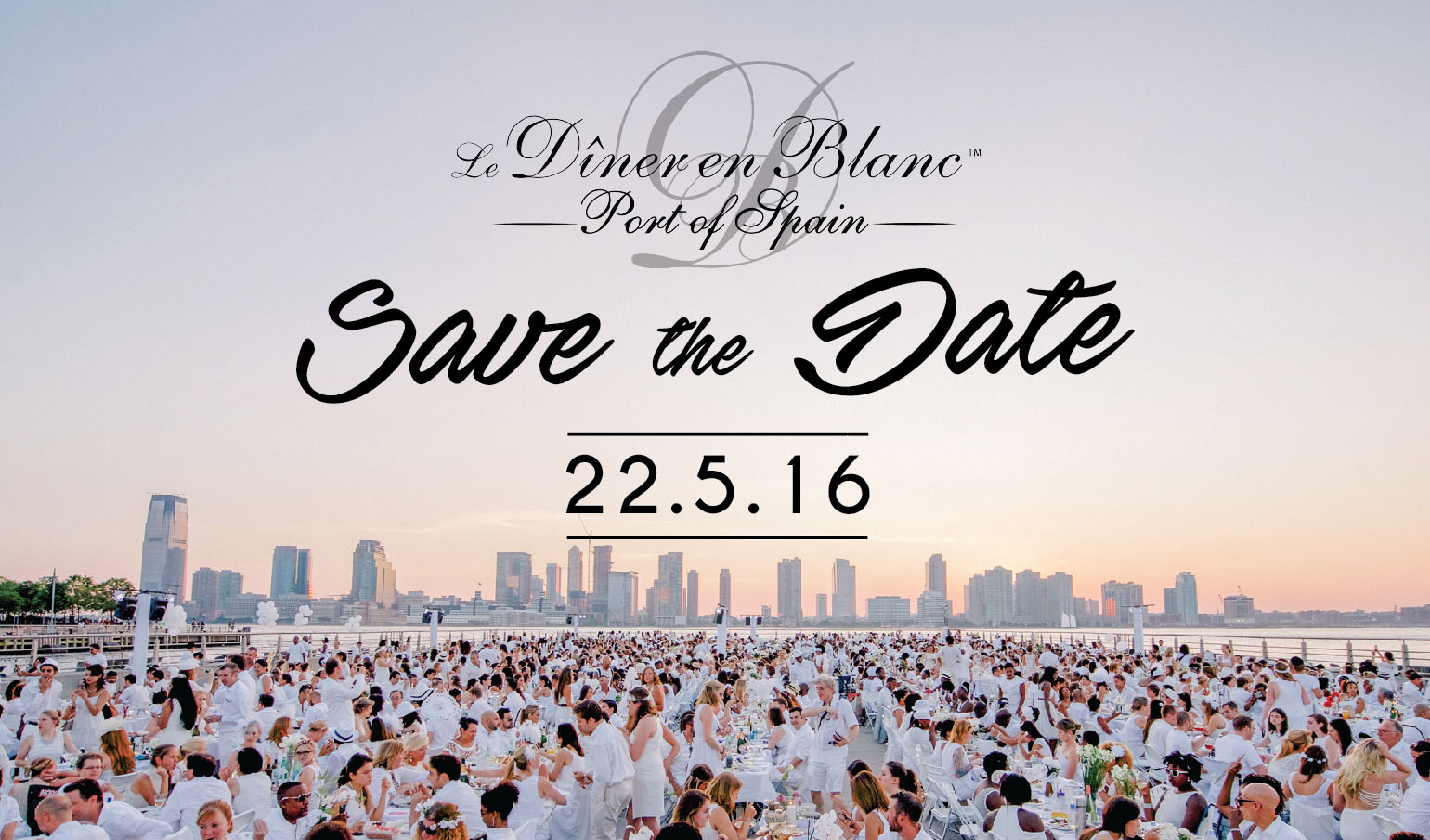 Save the date email in Auckland